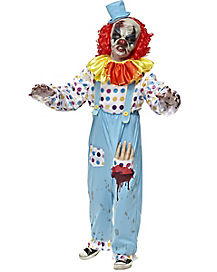 Kids Wriggly Mortie Clown Costume