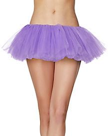 Purple Organza Tutu
