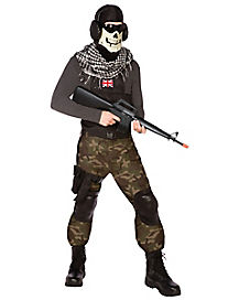 Skull Commando Adult Mens Costume