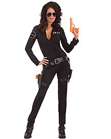 Adult Sexy SWAT Costume