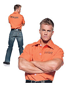 Prisoner Adult Mens Shirt