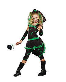 Kids Veiled Monster Bride Costume