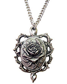 Rose Thron Necklace