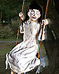 2 Ft Swinging Zombie Girl Animatronics - Decorations
