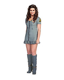 Adult Flight Wing Girl Occupation Costume