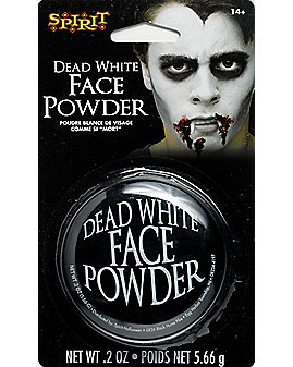 Dead White Face Powder Makeup