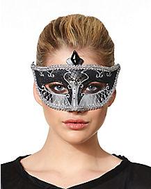 Black Carnival Mask