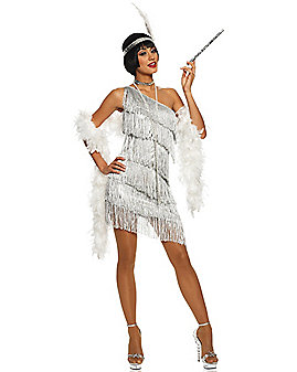 Adult Dazzling Flapper Costume