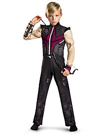 Kids Muscle Hawkeye Costume - The Avengers