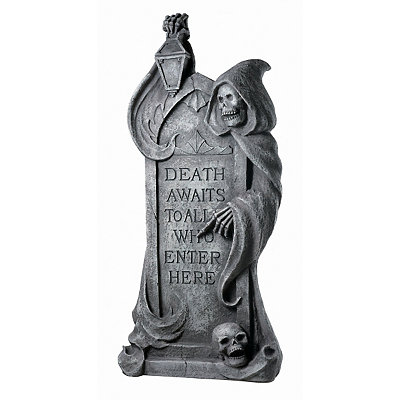 32'' Reaper Resin Tombstone