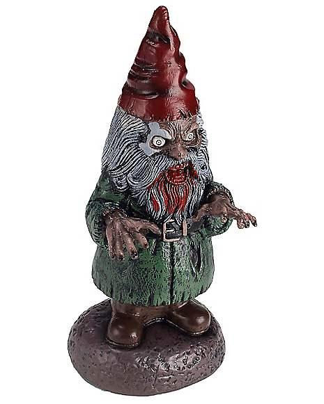 Gnome In Garden: Zombie Gnome Figurine