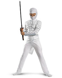 GI Joe Rise of COBRA Storm Shadow Muscle Child Costume
