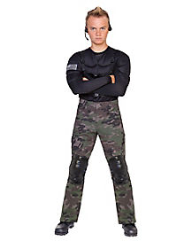 Kids Commando Special Forces Costume
