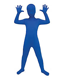 Super Skins® Blue Skin Suit Child Costume