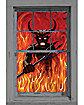 WOWindows Devil & Fire Window Poster