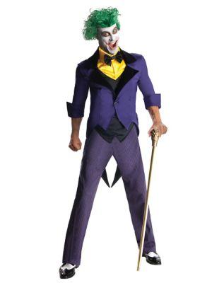 man modeling a joker outfit