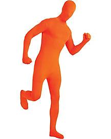 Super Skins® Orange Suit Adult Mens Costume
