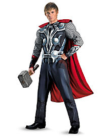 Adult Muscle Thor Costume - Avengers