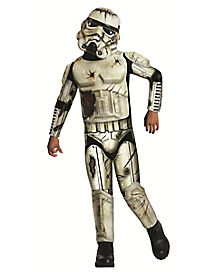 Kids Death Trooper Costume - Star Wars