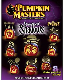 Sensational Shadows Pumpkin Carving Pattern Book