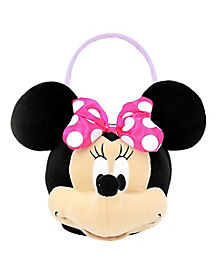 Disney Minnie Mouse Plush Bucket