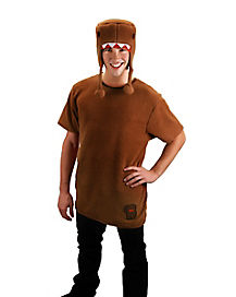 Adult Domo Hat and Shirt Costume