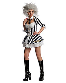 Beetlejuice Adult Womens Costume