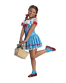 Wizard of Oz Dorothy Girls Costume