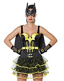 Batman Adult Womens Corset with Cape