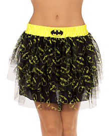 Batman Batgirl Adult Womens Petticoat