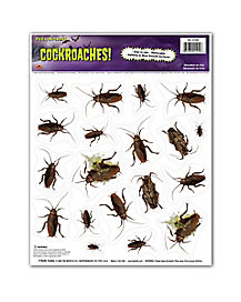 Cockroach Peel 'n Place Stickers