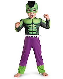 Hulk Muscle Toddler Costume