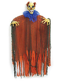 3 ft Orange and Blue Hanging Clown - Decoration