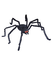 5 ft Light Up Longhair Spider - Decorations