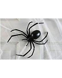 6 in Black Widow Spider - Decorations