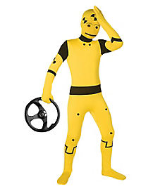 Super Skins® Crash Test Dummy Skin Suit Child Costume