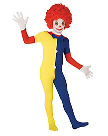 Kids Super Skins® Clown Skin Suit Costume