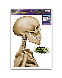 Skeleton Car Cling
