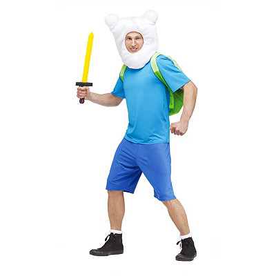 Adventure Time Finn Adult Mens Costume