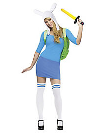 Adventure Time Fionna Adult Womens Costume