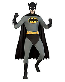 Batman Skin Suit Adult Mens Costume