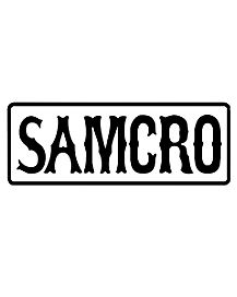 SAMCRO Patch - Sons of Anarchy