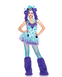 Adult Polka Dotty Monster Costume