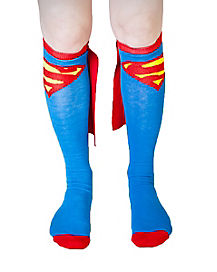 Caped Superman Socks - DC Comics
