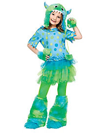 Kids Monster Miss Costume