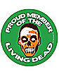 Proud Member Living Dead Magnet