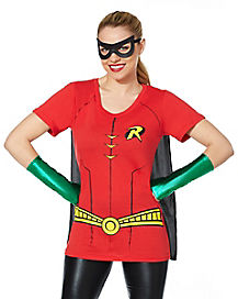 Robin Caped T-Shirt