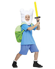 Kids Finn Costume - Adventure Time