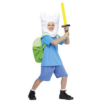 Adventure Time Finn Child Costume