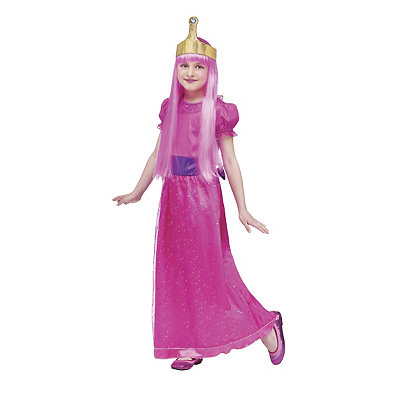 Adventure Time Princess Bubblegum Child Costume